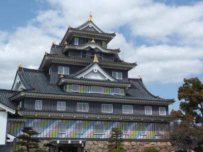 岡山ー児島-丸亀に、夕日の美しい鷲羽山のホテルは2度目
