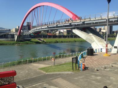 ちょっとだけかえって来ました台北。YouBikeで運動1/2 基隆河サイクリング
