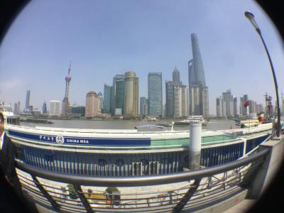 江蘇州 花見旅のおまけ!上海・魯迅・外灘公園