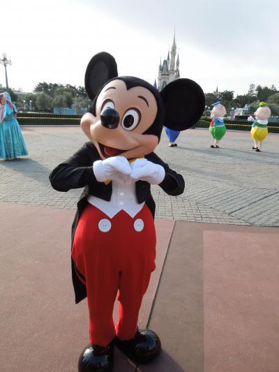 2017年 3月 ディズニーリゾート シー15周年・ランドアナ雪・ホテルミラコスタを満喫してきました大阪人 ⑦(ランドへ編)