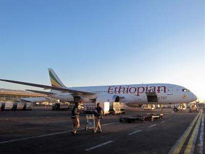 エチオピア航空 ビジネスクラス [香港→アディスアベバ→ケープタウン]  南アフリカ・ザンビア・ジンバブエ 2