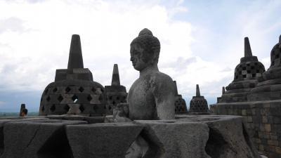 インドネシア ボロブドゥールとプランバナン 2017