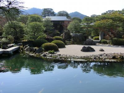 2017年日本縦断めし旅(10) 日本一の庭園と出雲の味と