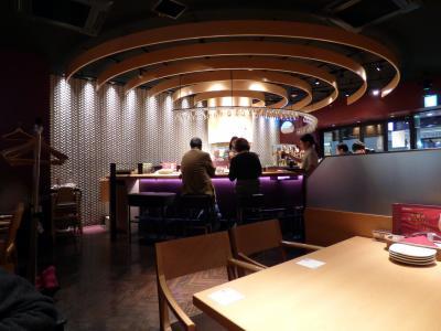 WBC観戦の東京ドームホテル2泊 東京ドームシティ エビス バー(YEBISU BAR)東京ドームシティ店の夕食