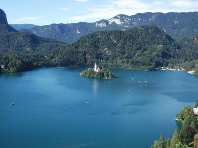 クロアチア・スロベニア旅行2 ブレッド湖