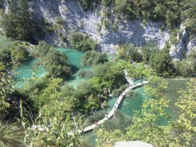 クロアチア・スロベニア旅行3 プリトビッツェ湖群国立公園
