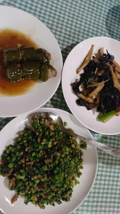 チャイナエアラインビジネスにて台北旅行3 台湾料理編