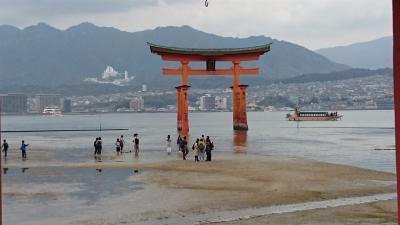 そうだ広島に行こう【宮島散策編 桜の時期に間に合って良かった】