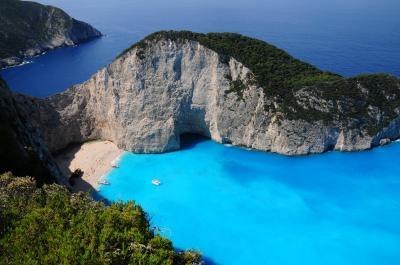絶景を求めてGWのギリシャその07~ザキントス島/感動のシップレック・ビーチ