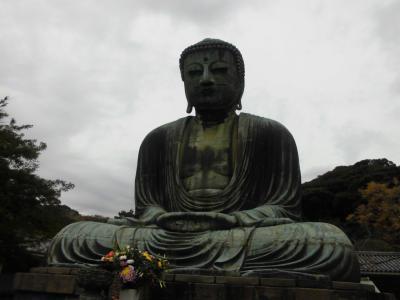 鎌倉の大仏見てきました