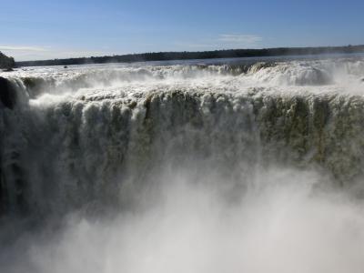 最初で最後のイグアスの滝