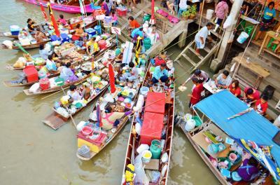 今年2度目のバンコク里帰り Part 5 - アンパワー水上マーケット