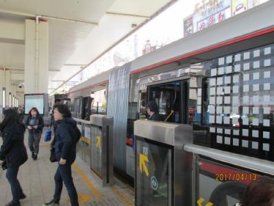 上海の延安路71路バス・初のBRT