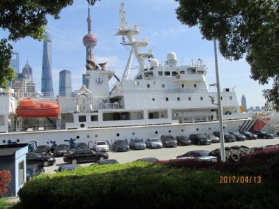 上海の上海港国際客運中心・北外灘