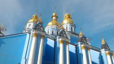 ウクライナ キエフ 美しいロシア正教教会を巡って