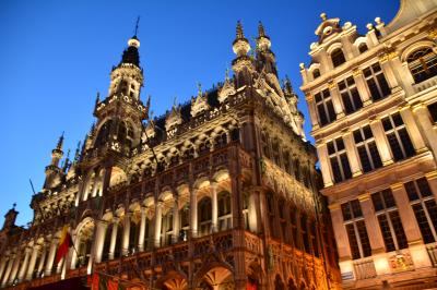 ブリュッセル 世界有数の美しい街並みを求めて 1