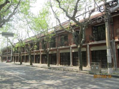 上海の建業里・優秀歴史建築・建国西路