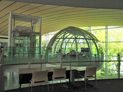 坂茂氏設計の成蹊大学情報図書館とギャラリー間の「SHIGERU BAN : PROJE…