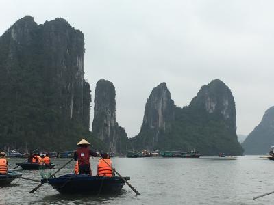 【'17GW  2回目のベトナム】香港トランジットで飲茶満喫とハロン湾(1、2日目)