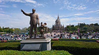 夢と魔法の国ディズニーランドへ!東京観光2日目