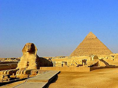 ムバラク政権崩壊時の エジプト観光1。
