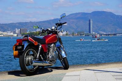 2017春の琵琶湖バイク旅(琵琶湖博物館&安土城跡)