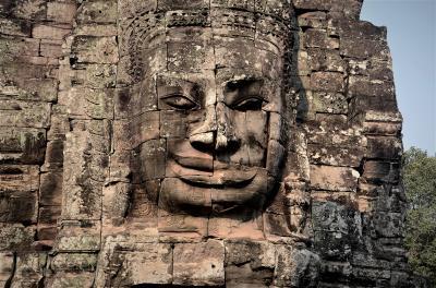 カンボジア 汝の心に菩薩は微笑みたり 宇宙の中心バイヨンと幻視と不調和の世界タ・プローム オッサンネコの一人旅