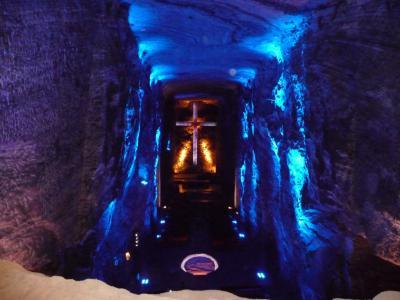 スペイン、モロッコ旅行から戻って間もなく仕事でコロンビア・ボゴタへ出張。仕事の合間に黄金博物館と塩のカテドラル観光