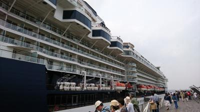 横浜港大さん橋国際客船ターミナルへ行ってみた