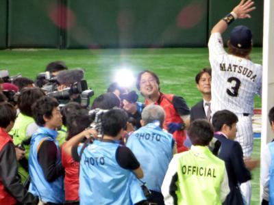 WBC観戦の東京ドームホテル2泊 第4回ワールド・ベースボール・クラシック(WBC)1次リーグB組日本VSキューバその4