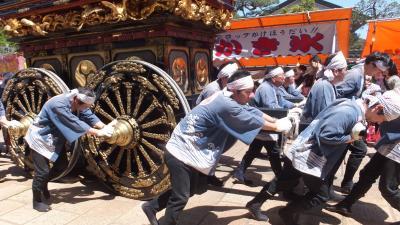 富山のGWを楽しみました!~(3)2日目は、いよいよ南砺市・城端の曳山祭です!