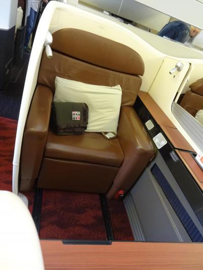 3泊5日パリの旅(1)~どうしても JALファーストクラスに乗りたくて♪