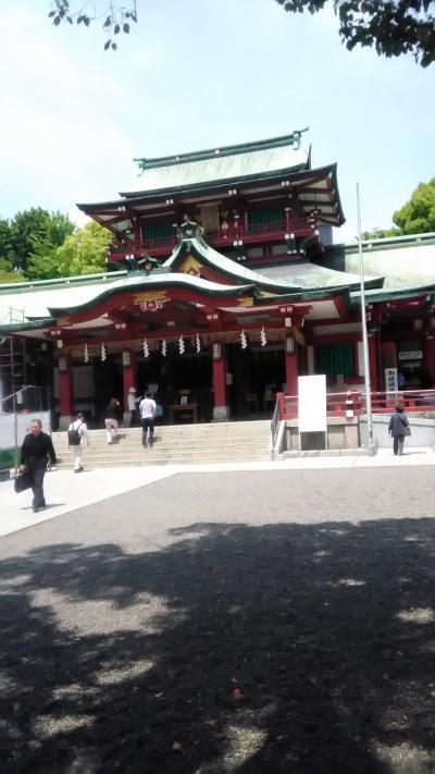 富岡八幡宮へ行ってみた