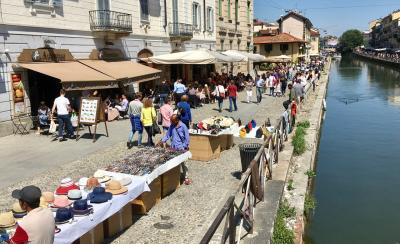 ミラノでアペリティーボ 2017年5月