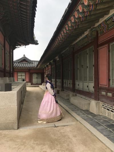 韓国/チマチョゴリでそぞろ歩き女史旅ソウル@オラカイ仁寺洞スイーツ(2017年5月)