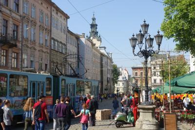 Lviv city day の時にリヴィウに行ってきました。