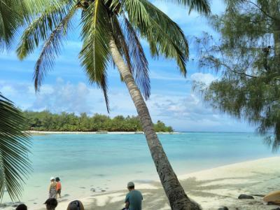 弾丸クック諸島1705  「周囲32kmのラロトンガ島で、のんびり過ごしました。」   ~ラロトンガ~