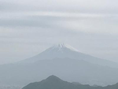 神秘的な富士山