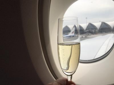ゴールデンウィーク5連休はミャンマーに癒やされる 5日目 TGのA380ビジネスクラスが快適すぎる