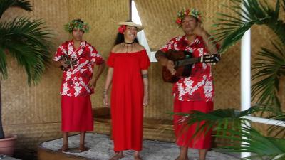 タヒチでCカード取得 【その1-3】 パペーテに到着・ボラボラ行きのAir Tahitiに乗り換え!