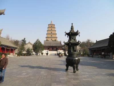 大慈恩寺、大雁塔、玄奨三蔵院