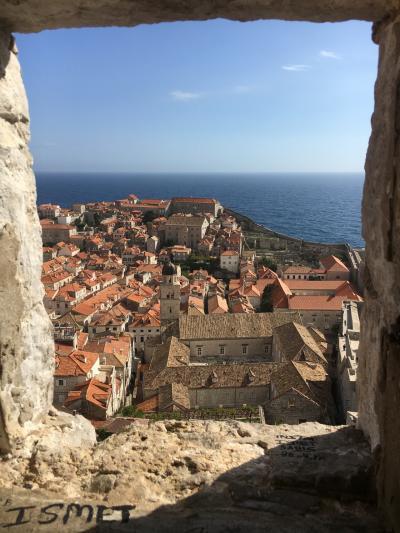 子連れでヨーロッパ:魅惑のクロアチア・モンテネグロ☆②オレンジ屋根が素敵ドブロブニク
