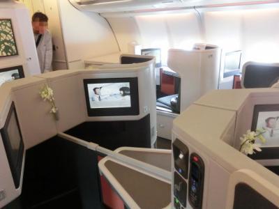 関空から香港へ < キャセイパシフィック航空のビジネスクラスを楽しむ 香港とバリの旅 1日目 その1 >