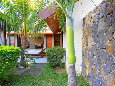 モーリシャスの休日/Pool Villa,  インド洋の貴婦人と言うらしい=素敵な名前です。1