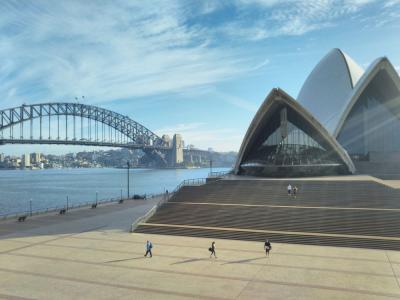 弾丸オーストラリア1705  「23年ぶりのシドニーで、16時間のトランジット。」   ~シドニー~