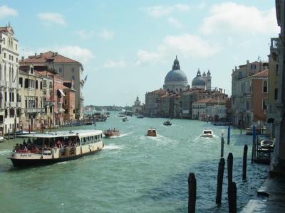 電車で行くイタリア旅行、ベネチア