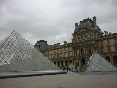 母娘二人旅*初めての個人手配のパリ&ベルサイユの旅,丸一日のルーブル美術館④
