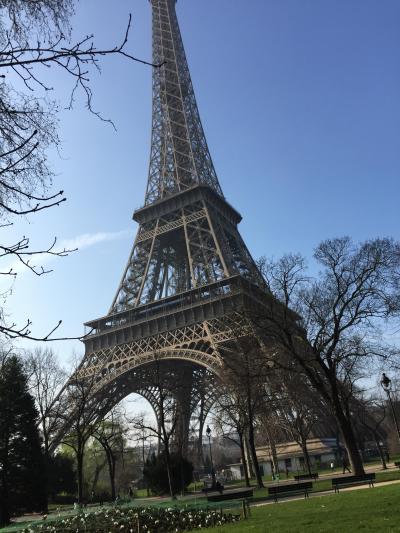 娘と二人旅(パリ編)