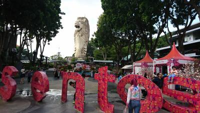 シンガポール旅行2 セントーサ島タイガースカイタワー、アラブストリート、ブギス