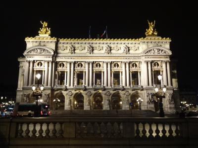3泊5日パリの旅(4)~ オペラ座(ガルニエ宮)・カフェドラぺなど